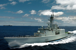 Canadian Forces Military - The Navy